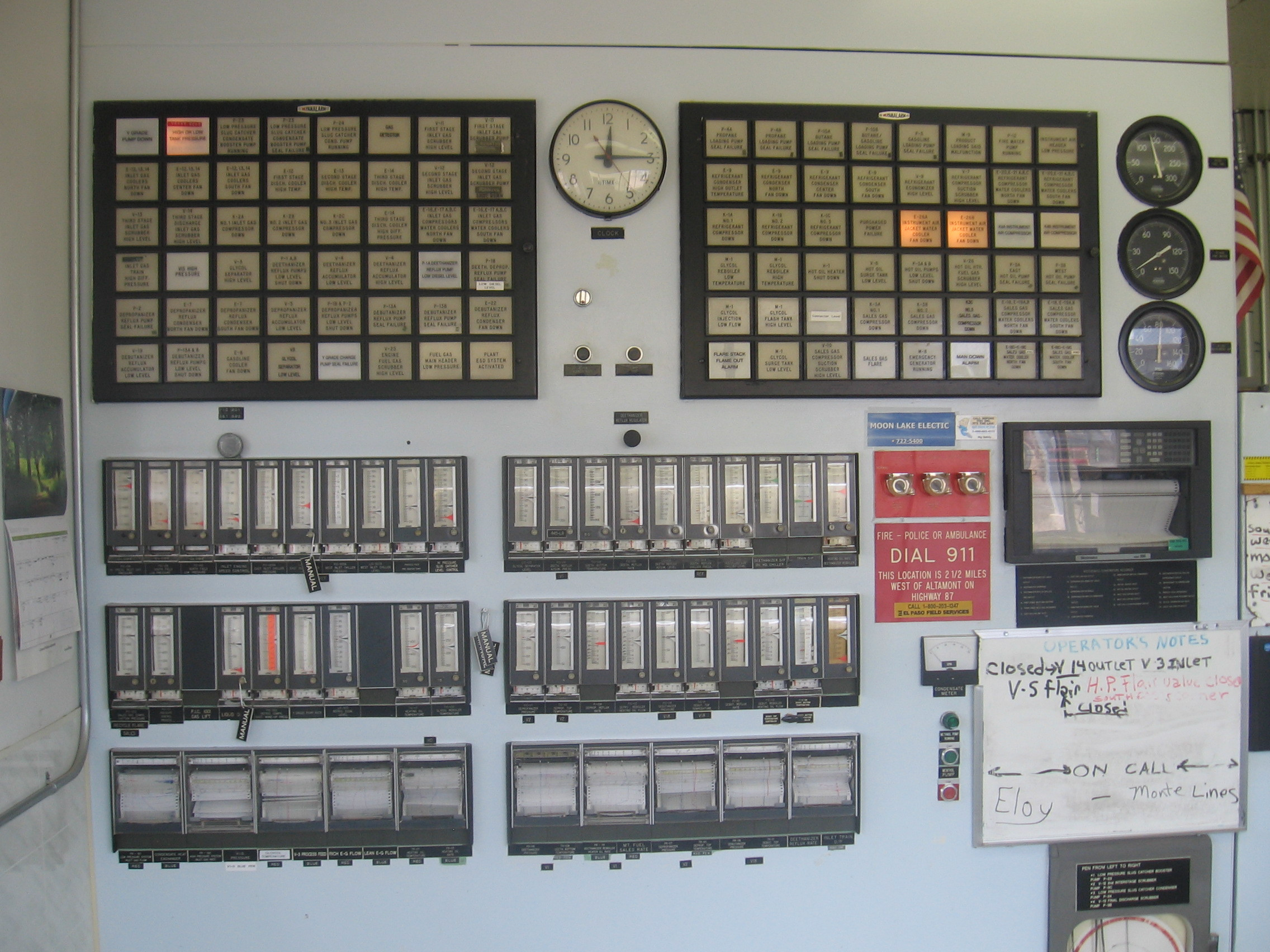 Old Control System